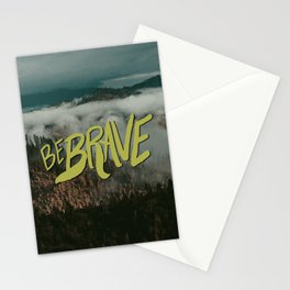 Be Brave - Adventure Landscape Stationery Cards