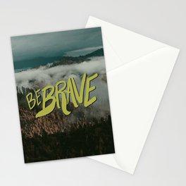 Be Brave - Adventure Landscape Stationery Cards