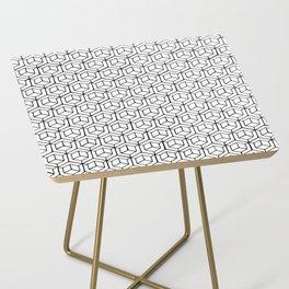 Hand Drawn Hypercube Side Table
