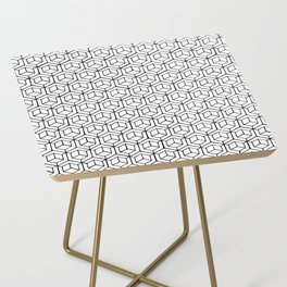 Hand Drawn Hypercube Side Table