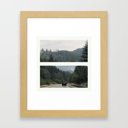 Bellingham Framed Art Print