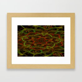 Hallucinogenic Knockwurst 2 Framed Art Print
