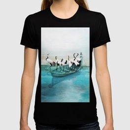 White Cranes T-shirt
