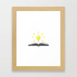 Love for Books Framed Art Print