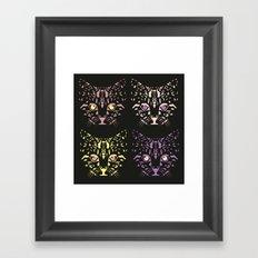 CAT FANTASY Framed Art Print