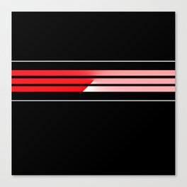 Team Colors....Red Canvas Print