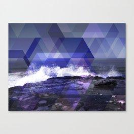 Triangulate the Horizon Canvas Print