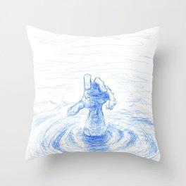 Sink Throw Pillow