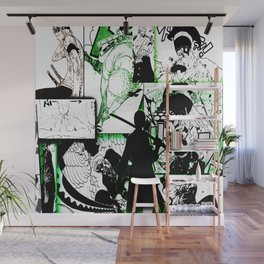 zoro in side Wall Mural