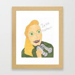 Goodall Framed Art Print