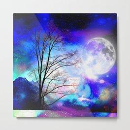 under the moon Metal Print