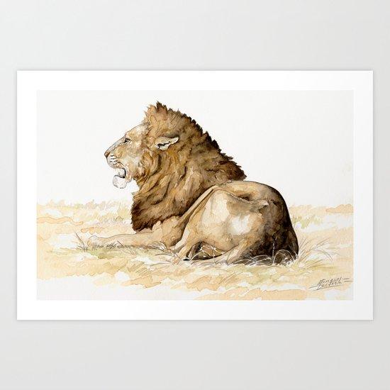 Africa10 Art Print