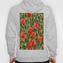 Poppys Of Summer Hoody