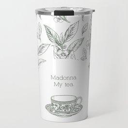 The Spilling of the Tea -V.1- Travel Mug