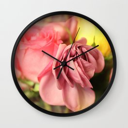 Lazy Days & Mondays Wall Clock