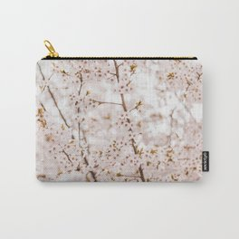 Honey bee blossom Carry-All Pouch