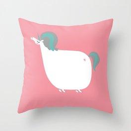 Unicorn! Throw Pillow