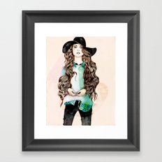 Boho Chic Framed Art Print