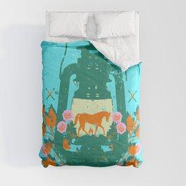 HORSE LANTERN Comforters