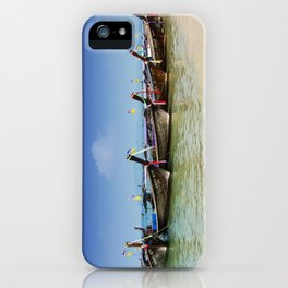 Boats in Thailand iPhone Case