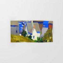 Edward Hopper Monhegan Houses Hand & Bath Towel