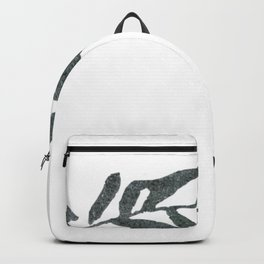 Botanical Olive Branch Backpack