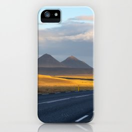 The Lonely Road iPhone Case