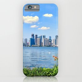 Canada Photography - Toronto Seen From A Park iPhone Case
