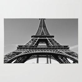 Tower Eiffel En Noir Rug