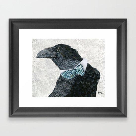 Raven Croft Framed Art Print