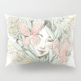 Flora and fauna Pillow Sham