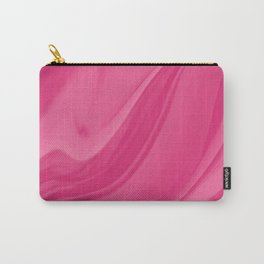 Magenta Liquid Marble Background Carry-All Pouch