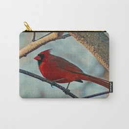 Pretty Male Cardinal Carry-All Pouch