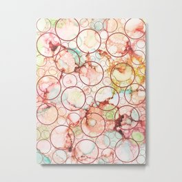 Colorful Abstract Art 49 Metal Print