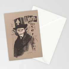 I am serious Stationery Cards