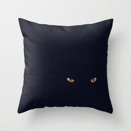 cat eye Throw Pillow