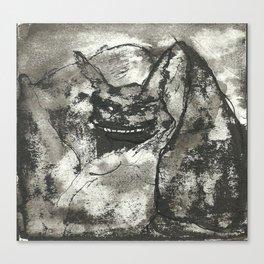 Mounstruo Canvas Print