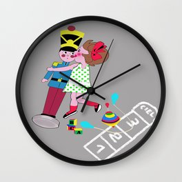 Vintage Toys Wall Clock