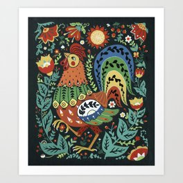 Chanticleer Art Print