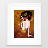 copper Framed Art Prints featuring Copper by Sybile Art