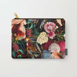 Floral and Animals pattern II Carry-All Pouch