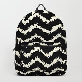 Ragged Chevron - Black/Cream Backpack