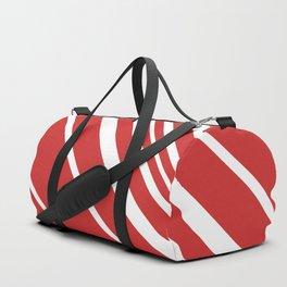 Candy Cane Stripes Duffle Bag