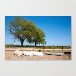 Shimmering, Warm & Bright Canvas Print