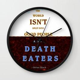 Good & Death Eater Wall Clock