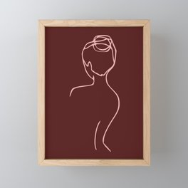 Sexy Back Framed Mini Art Print