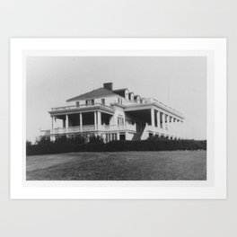 Country Club Art Print