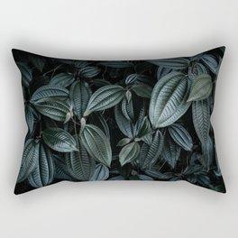 green leaves #society6 #decor #buyart Rectangular Pillow
