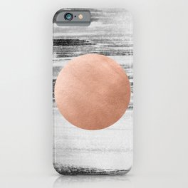 rose gold #1 iPhone Case