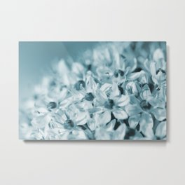 Little Blue Metal Print